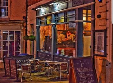 Foxtons Winebar & Restaurant in Galashiels